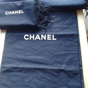 Authentic and Brand new CHANEL LONG BOOT dust bags